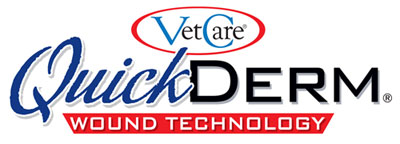 QuickDerm pet wound care